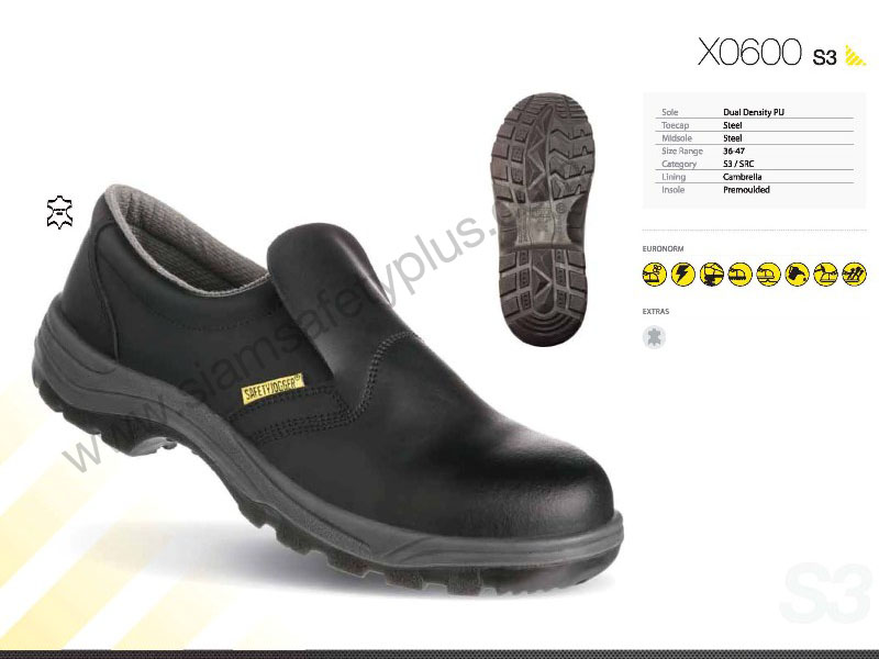 safety shoes safety Jogger X0600