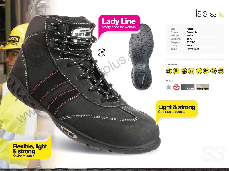 safety shoes safety Jogger ISIS