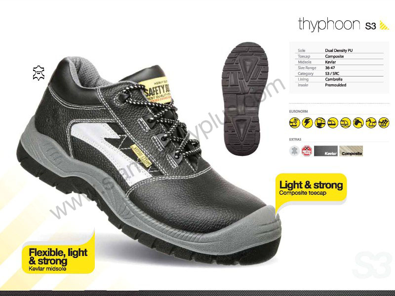 safety shoes safety Jogger Thyphoon